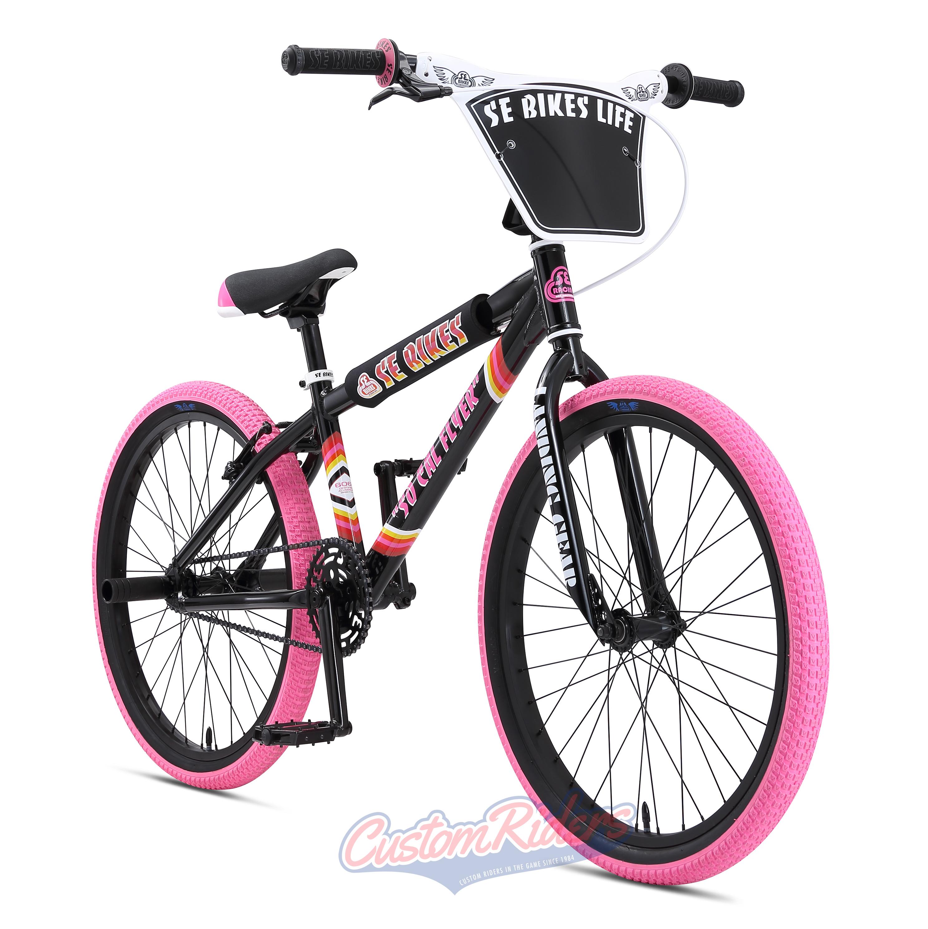76d55635ce6 SE Bikes SO CAL Flyer 24 2019 Bike Black/Pink £499.99