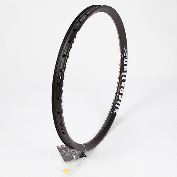 "Front Matt Black BMX Rim Double Wall from ALIENATION Skylark Rim 20/"" 36H"