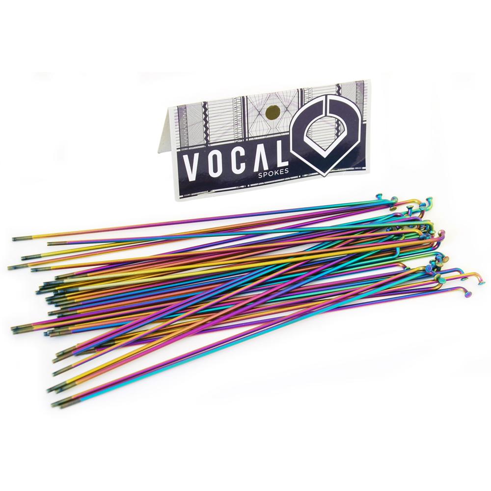 Vocal BMX Titanium Spokes Rainbow Ti