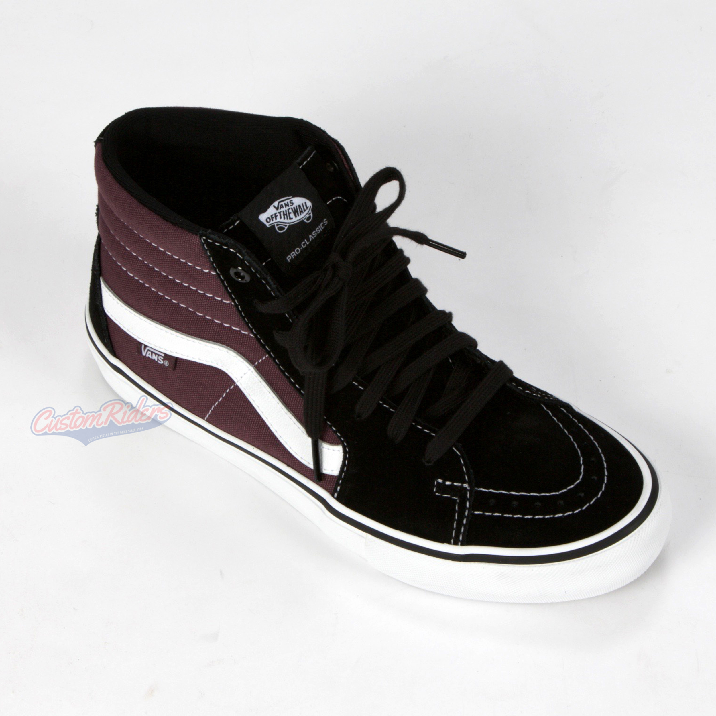 944b3149b314d7 Vans SK8-Hi Pro Shoes Black   Raisin £48.99