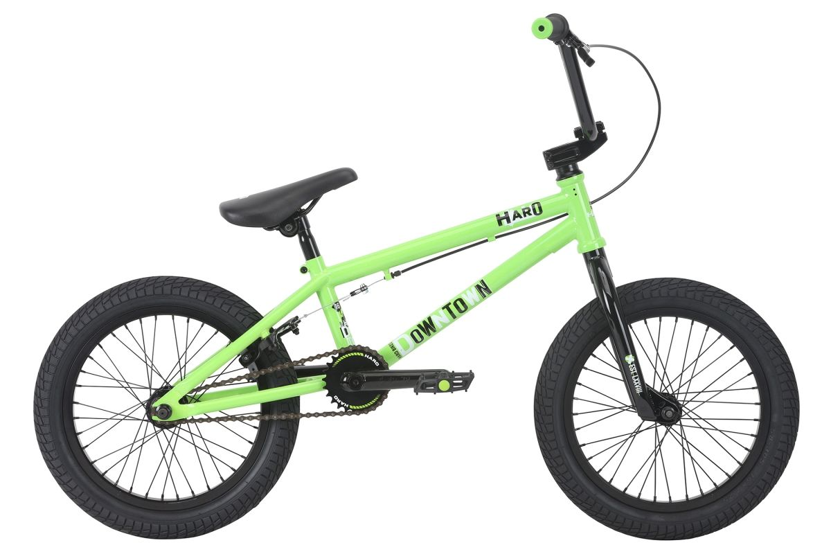 cba4e720c7 Haro Downtown 16 Inch Complete Bike 2018 Gloss Lime £349.99