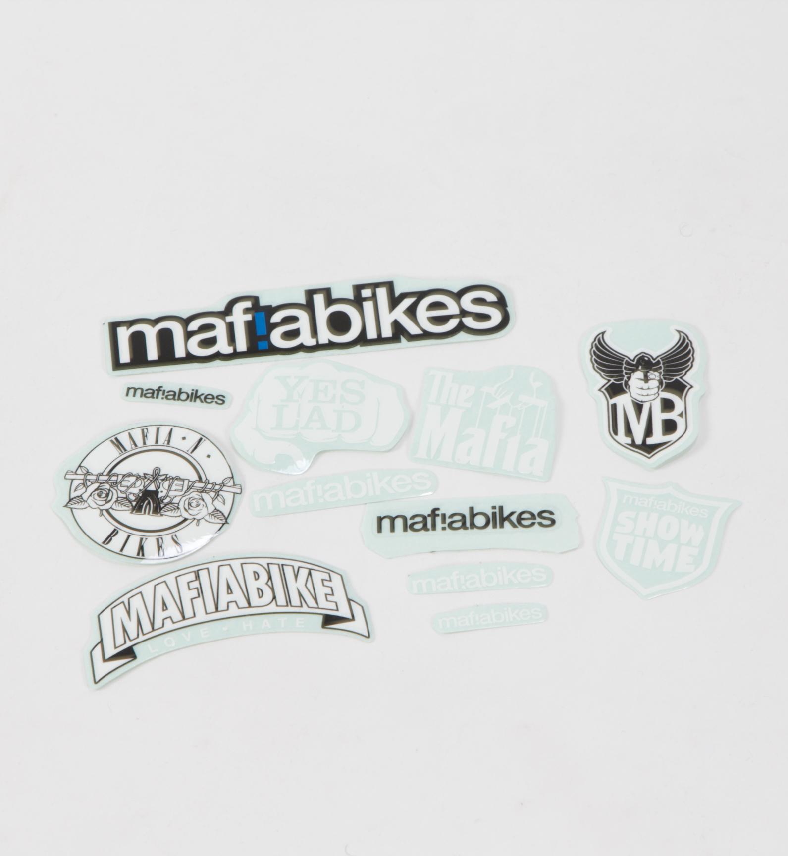 Primo BMX Black//clear Logo Sticker Decal