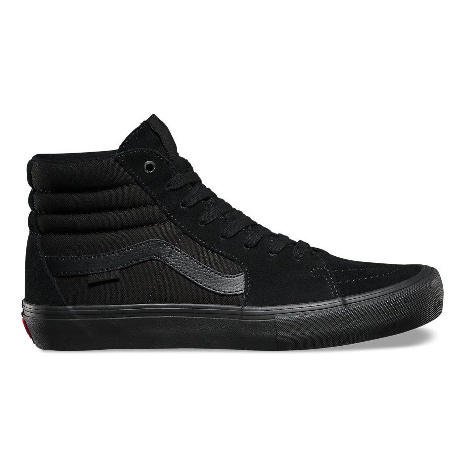 b306a02e38 Vans SK8-HI Pro Shoes Blackout £55.24
